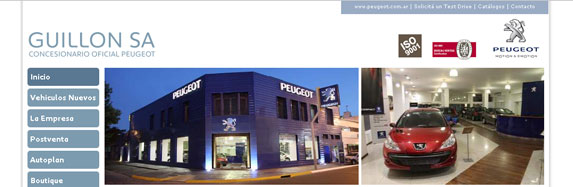 Guillon SA | Concesionario Oficial Peugeot Argentina