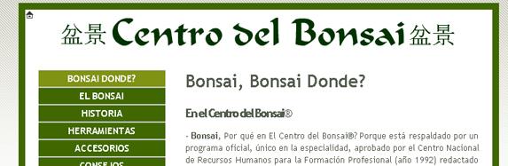 El Centro del Bonsai